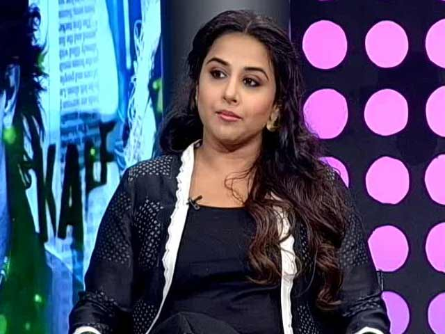 Video : Can't Play Similar Roles: Vidya Balan