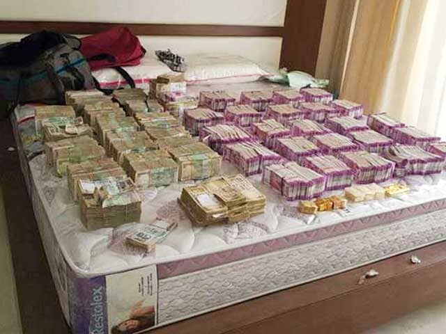 Video : Bengaluru Raids Reveal 6 Crores, Mostly In New Notes. Also, A Lamborghini