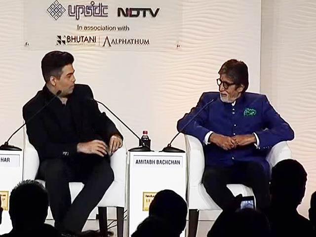 I Have No Capability To Be President, Amitabh Bachchan Tells Karan Johar