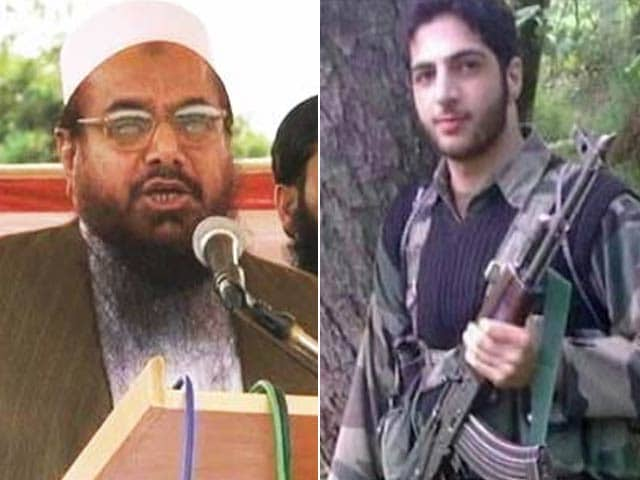 Video : Burhan Wani Spoke To Lashkar Chief Hafiz Saeed, Sought Support