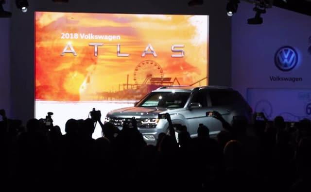 Video : First Look: Volkswagen Atlas