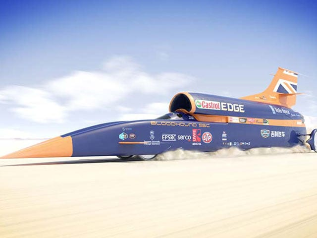 Video : As Bloodhound SSC Prepares To Shatter 1600kmph, Here's The India Connect