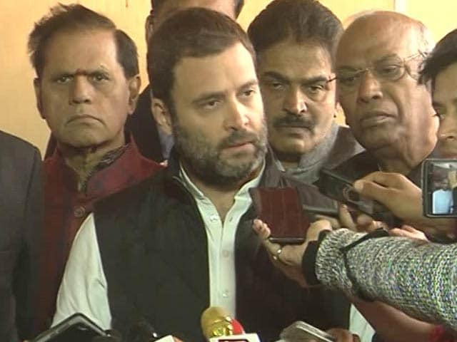 Video : 'Farmers Are Dying, PM Seems To Be Having Fun': Rahul Gandhi On Notes Ban