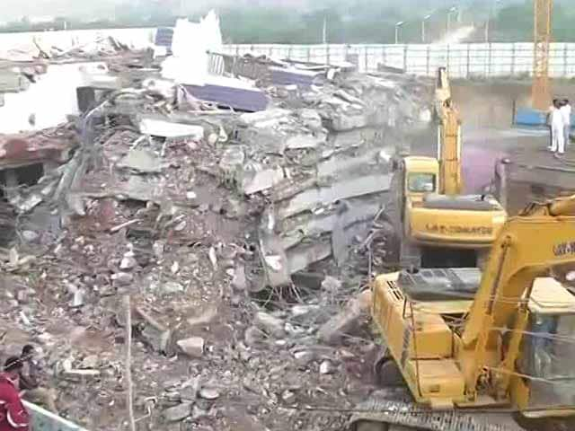 6 Dead After 6-Storey Building Collapses In Hyderabad