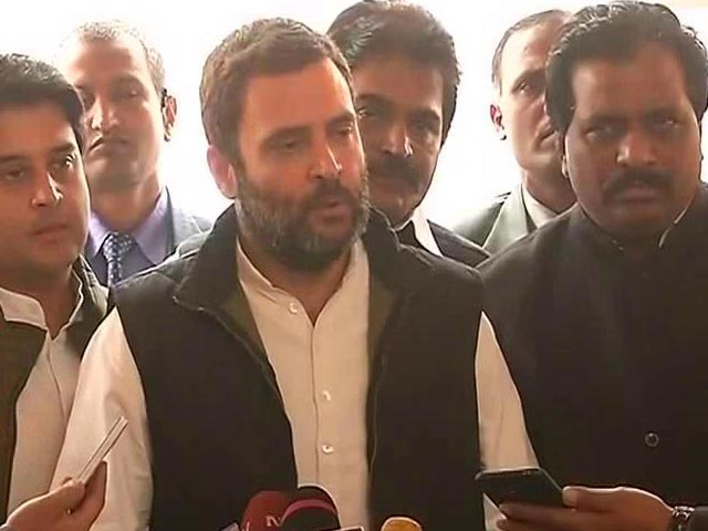 Video : Rahul Gandhi's Earthquake Claim Draws This BJP Response: 'Epicentre Of Scams'