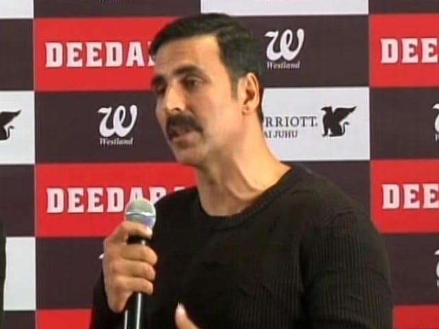 Video : Akshay Kumar Not Ready To Play Dara Singh Onscreen