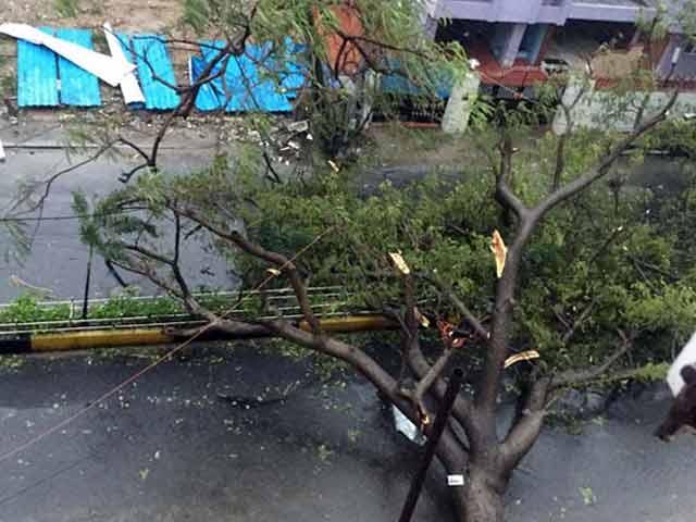 Video : चक्रवाती तूफान वरदा चेन्नई तट से टकराया, तेज हवाएं और भारी बारिश