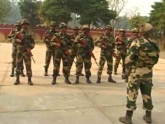 Video : After Terror Attack In Jammu's Nagrota, BSF Begins Commando Training