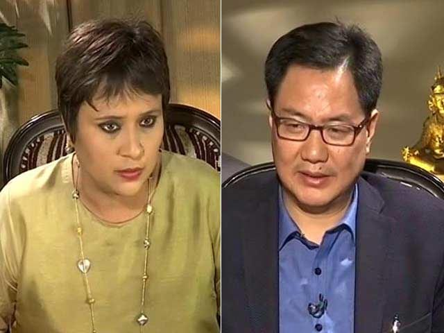 Video : Corruption Yours; Dare You To Prove My Role: Kiren Rijiju To Congress On 'Scam'