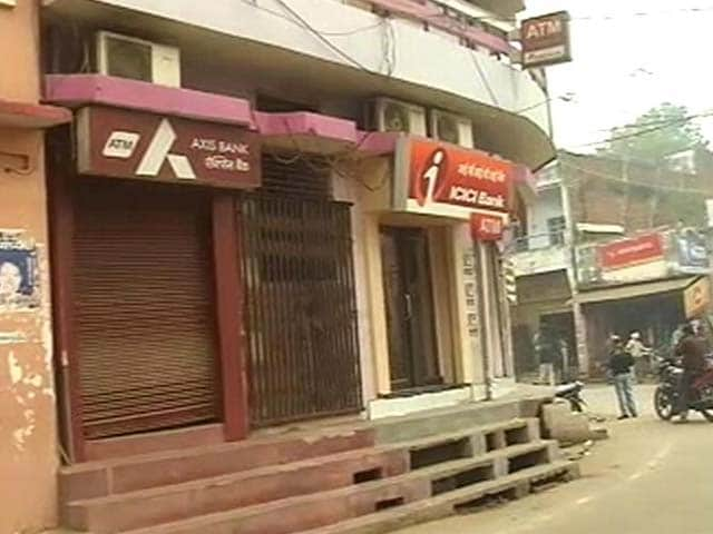 Video : Notes Ban: In Uttar Pradesh Town, Only One ATM In 53 Is Working