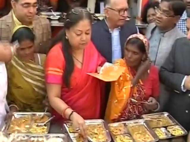 Video : After Amma Canteens, Rajasthan's 'Annapurna Rasois' Offer Meals For Rs. 5