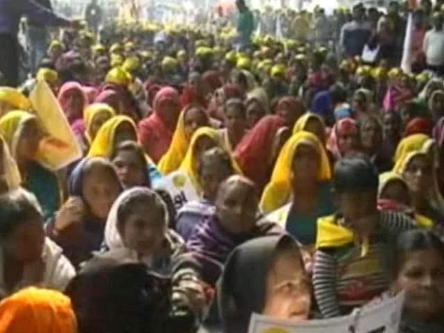 Video : स्वराज इंडिया की हल्ला बोल रैली, काले धन के खिलाफ आयोजन