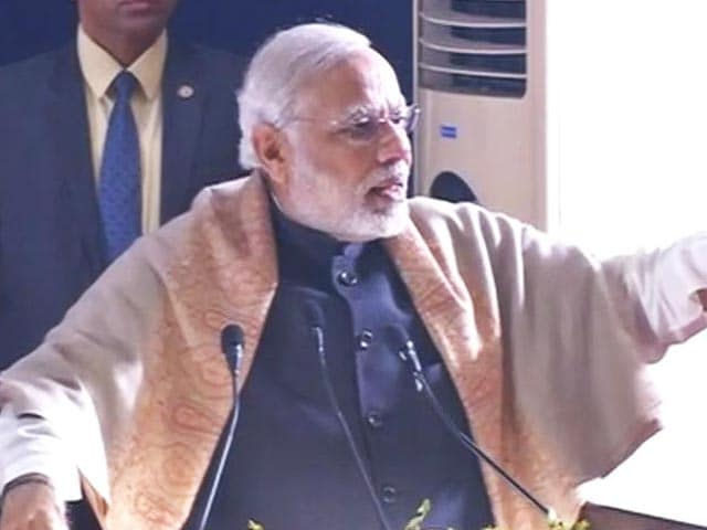 Video : Parties Opposing Notes Ban Like Pakistan's Cover Fire To Terrorists: PM Modi