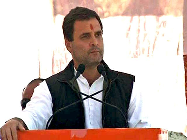 Video : Notes Ban Is Economic Robbery, Says Rahul Gandhi In Uttarakhand