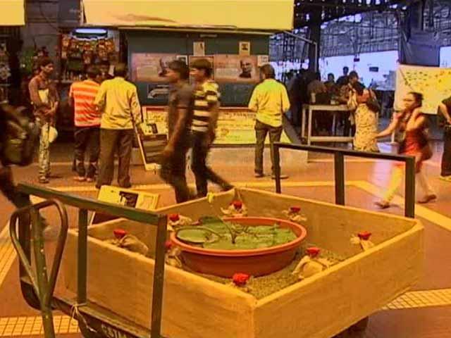 Video : Public Art At Mumbai's Bori Bunder