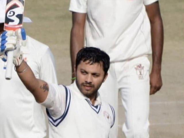 Video : Gujarat Batsman Samit Gohel's Ranji Trophy Triple Ton Smashes World Record