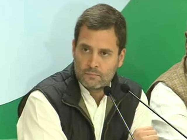 Video : On Notes Ban, Rahul Gandhi's 5 Questions For PM Modi. And BJP's Retort