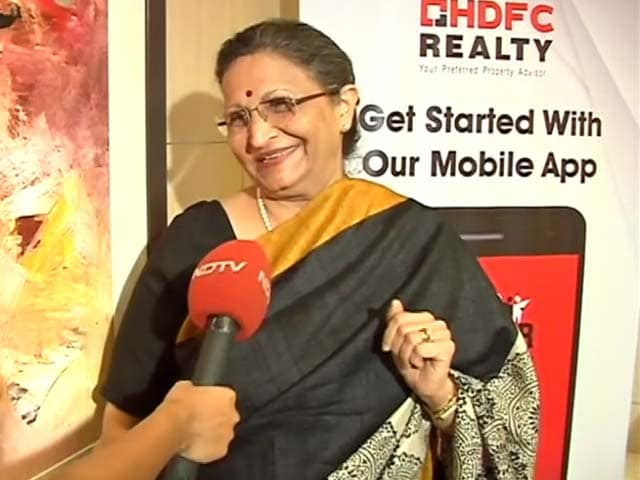 Video : Renu Sud Karnad On Property Prices And HDFC's New App