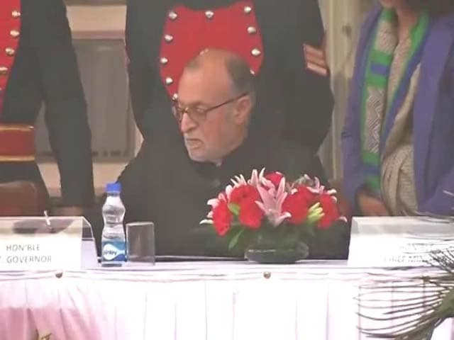 Video : Anil Baijal Takes Oath As Lieutenant Governor Of Delhi