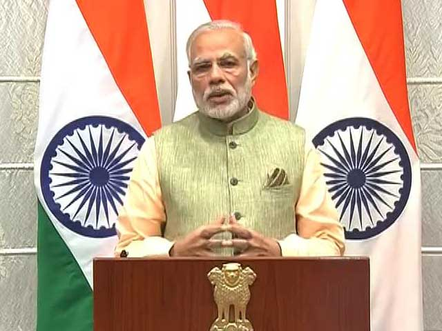 Video : Watch: PM Modi's Full Speech On New Year's Eve