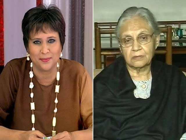 Video : Akhilesh Yadav Better For Chief Minister Than Me: Sheila Dikshit To NDTV