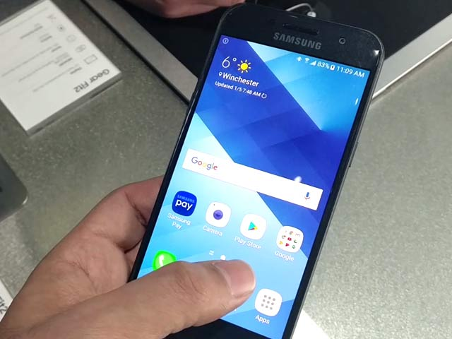 Video : Samsung Galaxy A3 (2017) First Look