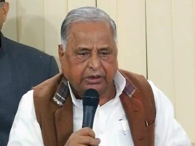 Video : मुलायम ने कहा- सपा का राष्ट्रीय अध्यक्ष मैं हूं, रामगोपाल को अधिवेशन बुलाने का हक नहीं