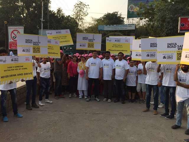 Video : Hyderabad Celebrates Road Safety Week 2017