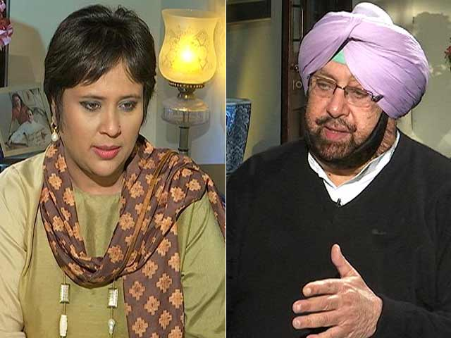 Video : Arvind Kejriwal A Sneaky Little Fellow; Badals Have No Chance: Amarinder Singh To NDTV