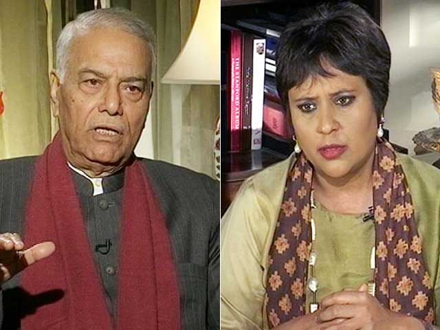 Video : Don't Link Kashmir Lull To Notes Ban, Worse Yet To Come, Warns Yashwant Sinha
