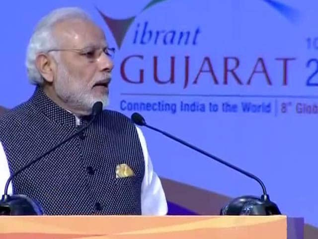 Video : 'Our Strength Is Depth Of Democracy', Says PM At Vibrant Gujarat Summit