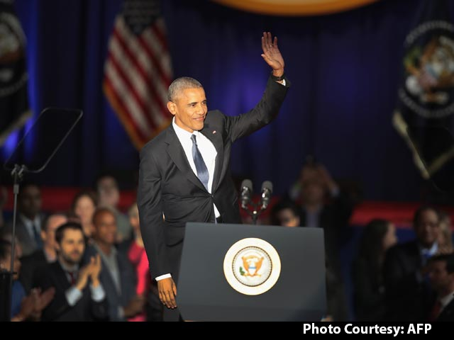 Video : 'Yes We Did, Yes We Can': US President Barack Obama Signs Off After 8 Years