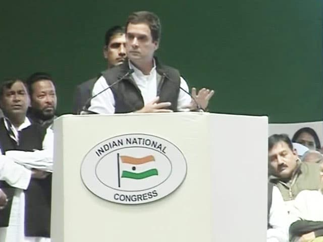 Video : 'Mitron' And 'Achche Din' In Rahul Gandhi's Attack On PM Narendra Modi