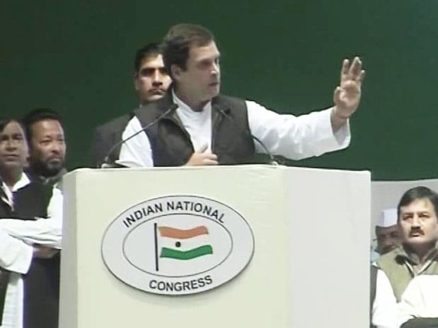 Video : How Much Black Money Came Back Post Notes Ban, Rahul Gandhi Asks PM Modi