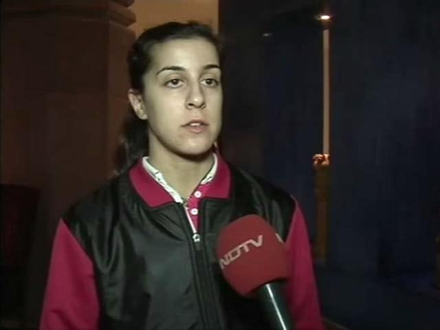Video : Saina Nehwal, PV Sindhu and I Broke The Chinese Wall: Carolina Marin to NDTV