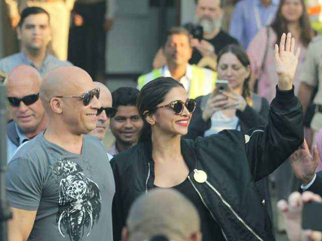 Video : xXx 3: Deepika And Vin Diesel Get Grand Welcome In India