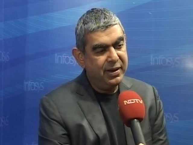 Video : 'My Name Is Sikka, But I Am Cashless': Infosys Chief's Thumbs Up For Notes Ban