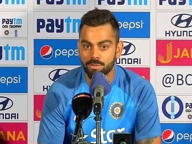Video : MS Dhoni Can Experiment More With His Batting Now: Virat Kohli