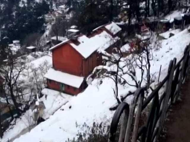 Video : Shimla Facing Disrupted Electricity, Water Supply After Welcome Snowfall