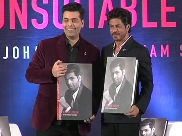 He Is Different And Runs Wild, Free: SRK On KJo's 'Greatest Achievement'