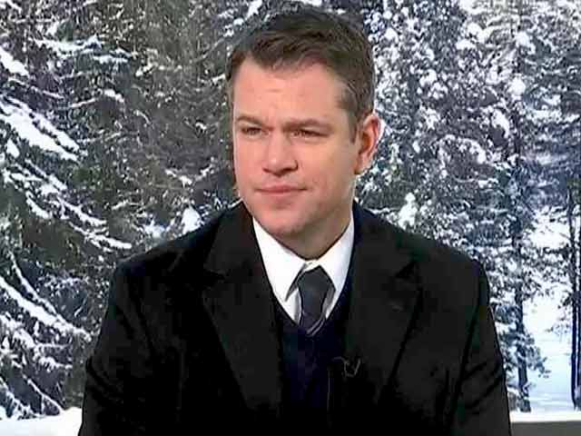 Video : Successful Trump Presidency Will Be Good For The World: Matt Damon To Prannoy Roy
