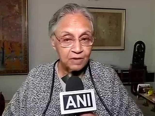 Video : Sheila Dikshit Wants 'Graceful Exit' As Congress, Akhilesh Yadav Tie-Up