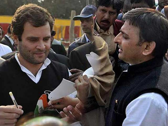 Video : Congress Beats Akhilesh Yadav To It, Announces Uttar Pradesh Alliance