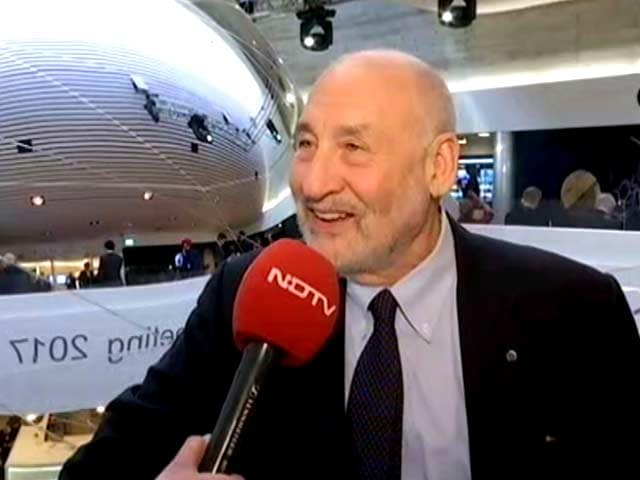Video : Siding Trump Means Alienating Majority Of Americans: Joseph Stiglitz