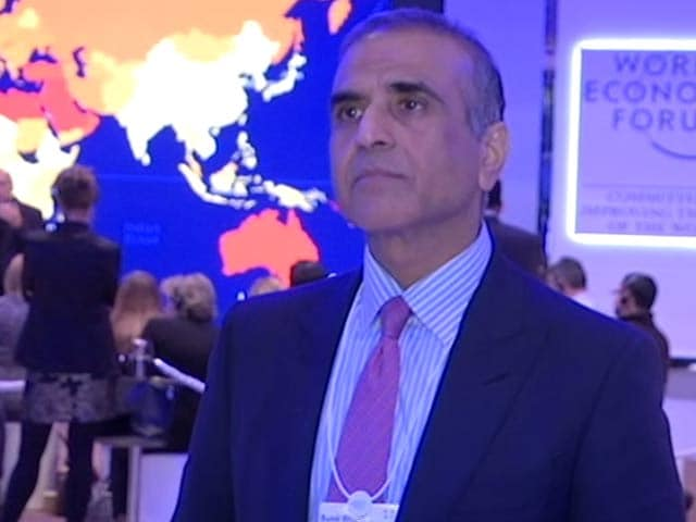 Video : 'India Stands Apart In A Good Place': Sunil Mittal To NDTV At Davos