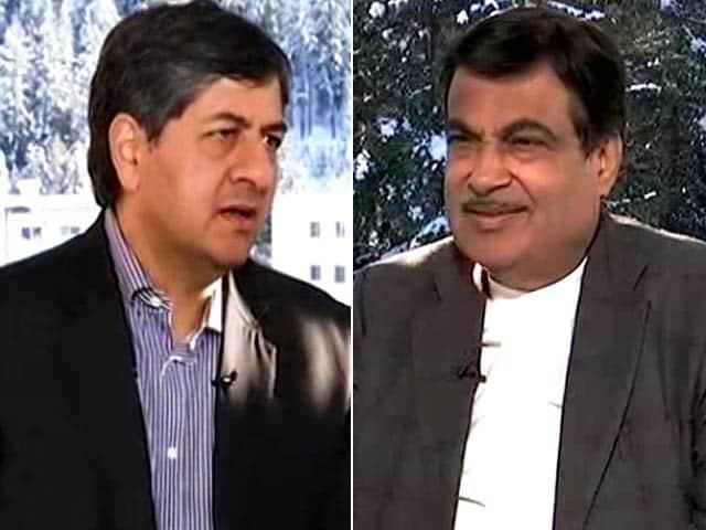 Video : Power Talk With Nitin Gadkari