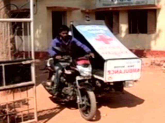 With Motorbike-Ambulances, Child Deliveries Go Up In Chhattisgarh