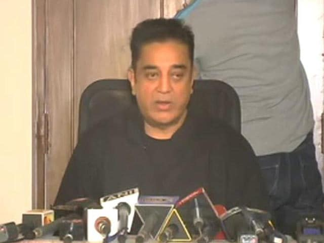 Video : Give Answers To Calm Us Down, Says Kamal Haasan About Chennai Cop Videos