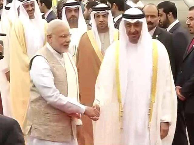Video : PM Modi Receives Republic Day Chief Guest Crown Prince Of Abu Dhabi