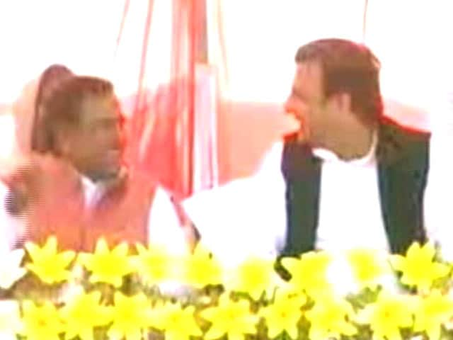 Video : Akhilesh Yadav's First Day, First Show Hijacked By Controversial Minister